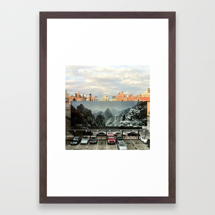 Alternate NYC Framed Art Print