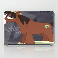 mlp iPad Cases featuring MLP TROUBLESHOES CLYDE by Kalisourusrex