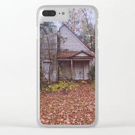 Graham Methodist Church Clear iPhone Case