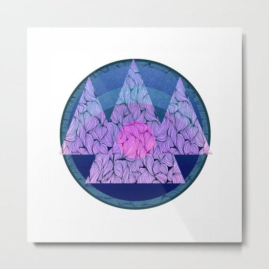 Northern mountains Metal Print