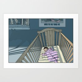 Print No. 4 from Natalie Unseen: The Mouse Queen's Bargain Art Print