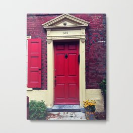 Door to 1776 Metal Print