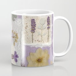 Lavender Collage Coffee Mug