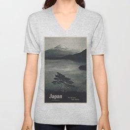Vintage poster - Japan Unisex V-Neck