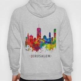 Jerusalem Israel Skyline Hoody