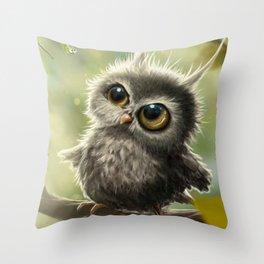 The Owl's  Throw Pillow