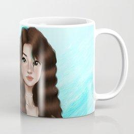 Pisces Zodiac Girl Coffee Mug