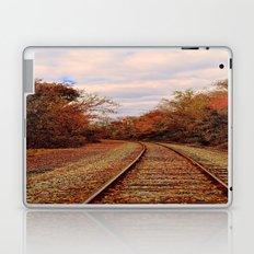 Fall on the Tracks Laptop & iPad Skin
