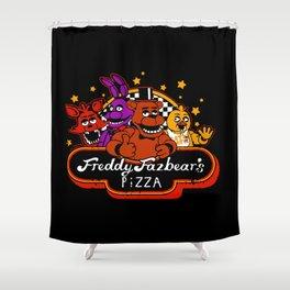 Freddy Fazbears Pizza Shower Curtain