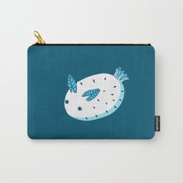 Sea Bunnies_Blue Carry-All Pouch