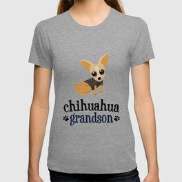 Chihuahua Grandson Pet Owner Dog Lover T-shirt