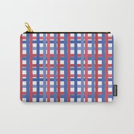 4th of July Gingham Carry-All Pouch