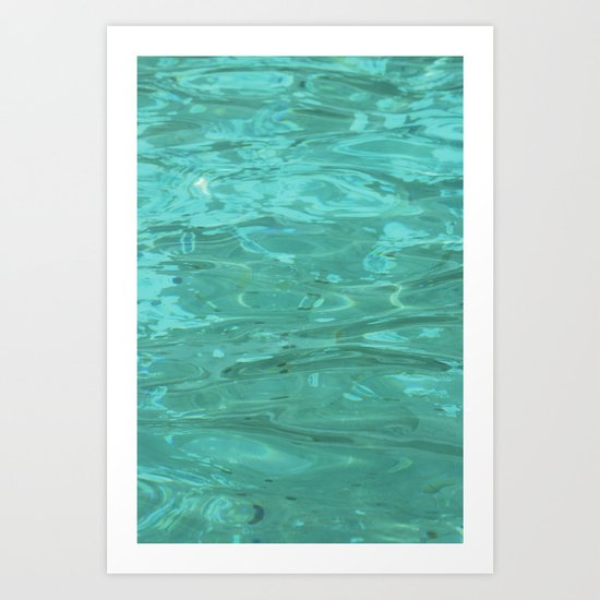 The Water Art Print