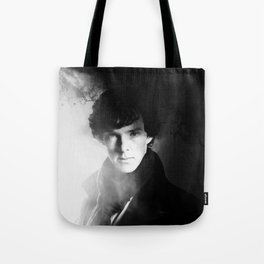 AMAZING SHERLOCK - BLACK & WHITE Tote Bag