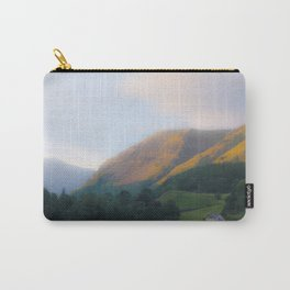 Golden Mountain Sunset Carry-All Pouch