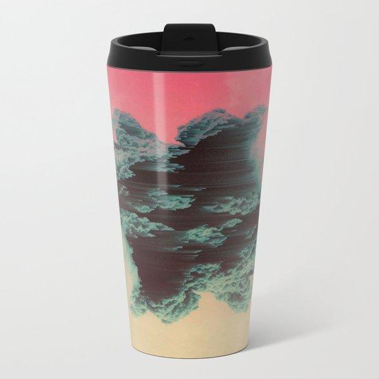 dissipate Metal Travel Mug
