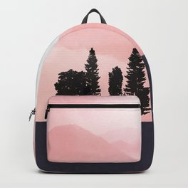 Pink Sunny Field Backpack