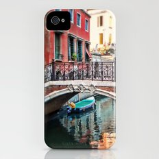 the blue boat iPhone (4, 4s) Slim Case