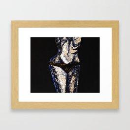 Eternal Black Framed Art Print