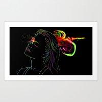 Headshot Art Print