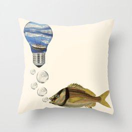 being something else Throw Pillow