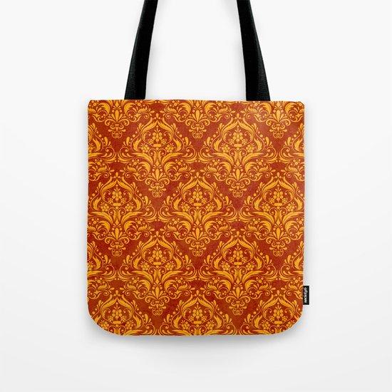 Halloween damask colors #2 Tote Bag