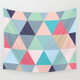 Geo Pastels Wall Tapestry