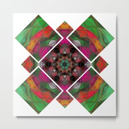 Psychedelic Trance Metal Print
