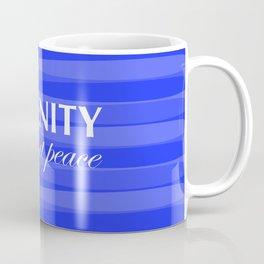 Blue for Serenity Coffee Mug