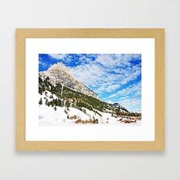 Swiss Alpine World Kandersteg  Framed Art Print