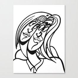 ★~(◡﹏◕✿) Canvas Print