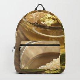Elder Tea Still life for kitchen Backpack