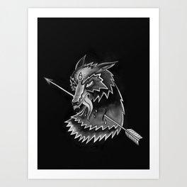 Steppen Wolf Art Print