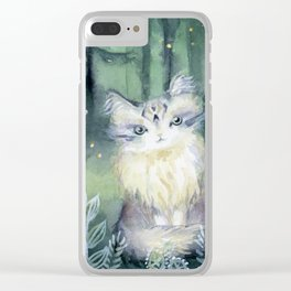 Trust Cat Clear iPhone Case