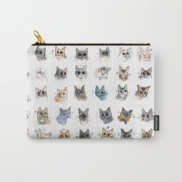 50 cat bleps! Carry-All Pouch
