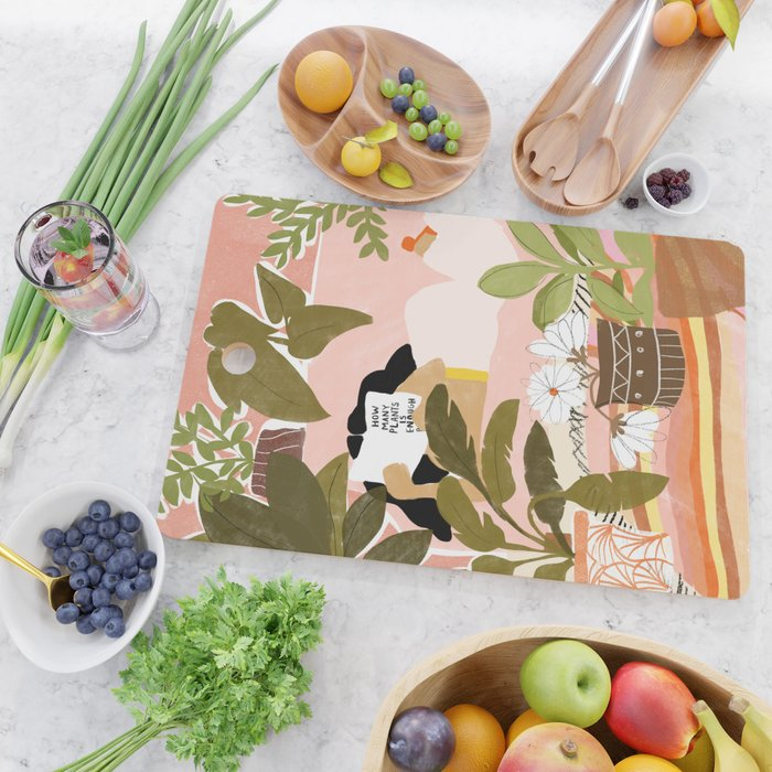 How Many Plants Is Enough Plants? Cutting Board