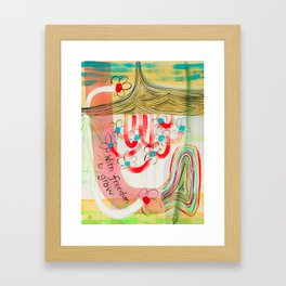 With Freedom To Grow (No. 5) Framed Art Print