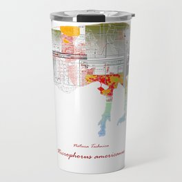 Natura Technica - American Burying Beatle Travel Mug