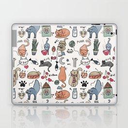 Cats Life Laptop & iPad Skin