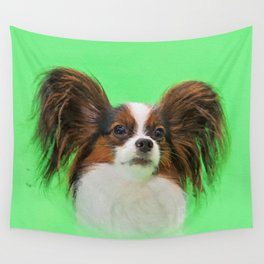 Papillon -Continental Toy Spaniel Wall Tapestry