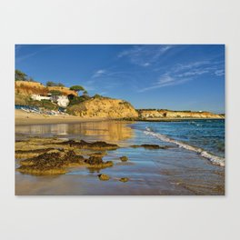 Olhos d'Agua in winter, Portugal, Canvas Print