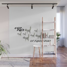Family Dogs Wall Mural