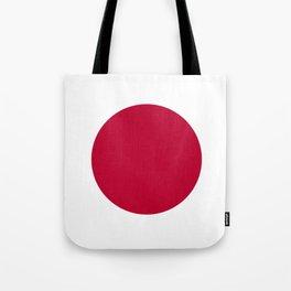 Flag of Japan - Japanese Flag Tote Bag