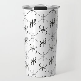 Moroccan Berber PATTERN, Amazigh, Tifinagh letter Travel Mug