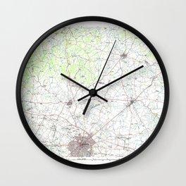 KY Lexington 710075 1986 topographic map Wall Clock