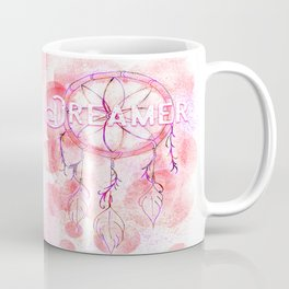 Pink and purple dreamer dream catcher Coffee Mug