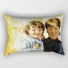 mother and child 1 Rectangular Pillow