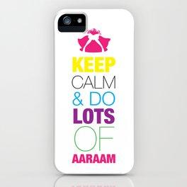 Keep Calm 1 iPhone Case