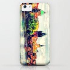 Prague panorama watercolor iPhone 5c Slim Case