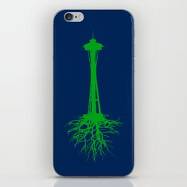 Seattle Roots iPhone Skin